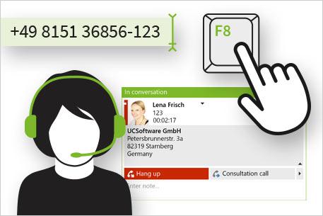 ProCall 6 Enterprise : enables easy communication